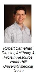 robert carnahan director antibody and protein resource vanderbilt university medical center
