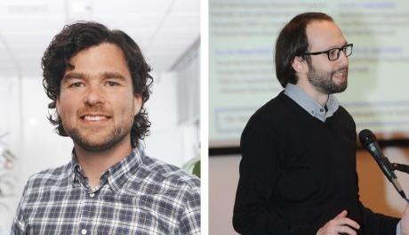 Michiel Weber, Senior Bioinformatician at DDL (left), and A. Sinan Yavuz, PhD, Senior Bioinformatics Scientist, Seven Bridges (right) Michiel Weber, Senior Bioinformatician at DDL (left), and A. Sinan Yavuz, PhD, Senior Bioinformatics Scientist, Seven Bridges (right)