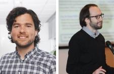 Michiel Weber, Senior Bioinformatician at DDL (left), and A. Sinan Yavuz, PhD, Senior Bioinformatics Scientist, Seven Bridges (right)