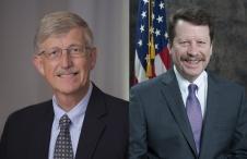 NIH Director Francis Collins; FDA Commissioner Robert Califf