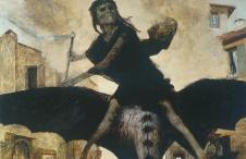 Arnold Böcklin: The Plague (1898)