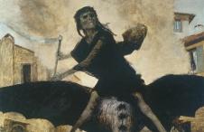 Arnold Böcklin: Die Pest (1889)